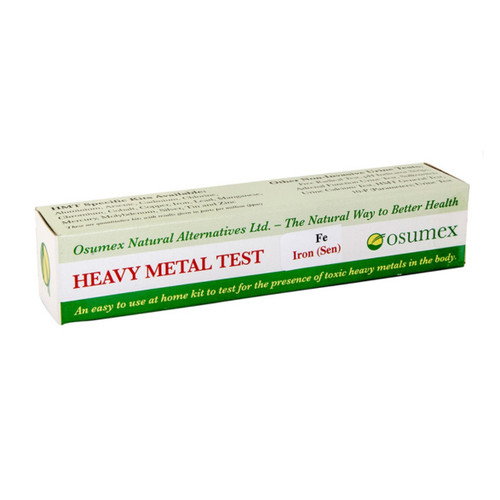 Osumex Heavy Metal Test Kit - Iron (Sensitive)