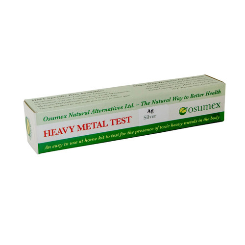 Osumex Heavy Metal Test Kit - Silver
