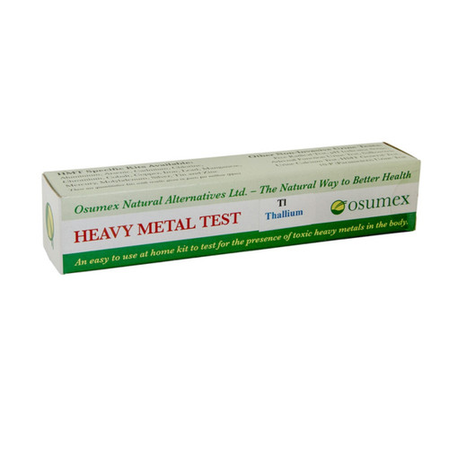 Osumex Heavy Metal Test Kit - Thallium