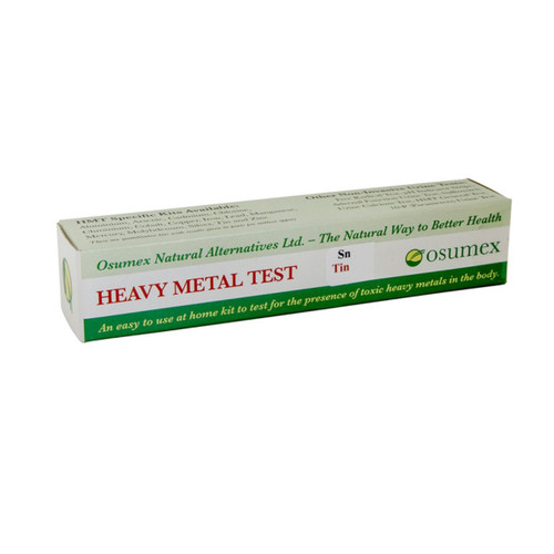 Osumex Heavy Metal Test Kit - Tin
