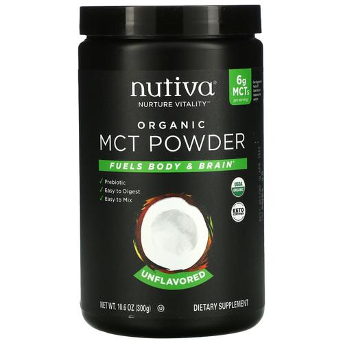 Nutiva Organic MCT Powder (Unflavored) - 300g
