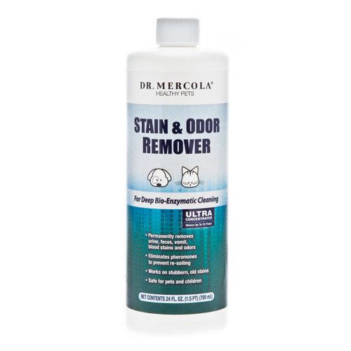 Dr Mercola Healthy Pet Stain and Odour Remover - 24oz