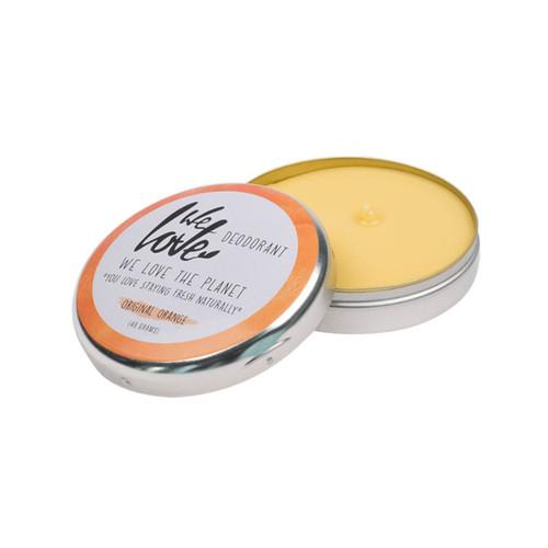 We Love The Planet Natural Deodorant Tin (Orange) - 48g