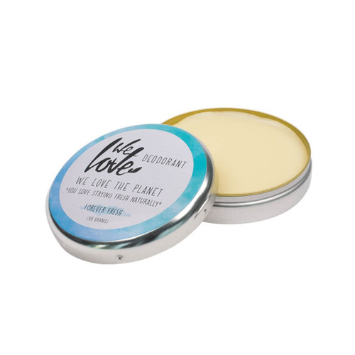 We Love The Planet Natural Deodorant Tin (Forever Fresh) - 48g
