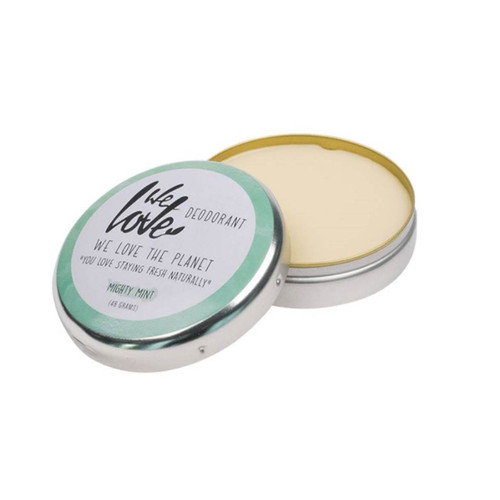 We Love The Planet Natural Deodorant Tin (Mighty Mint) - 48g