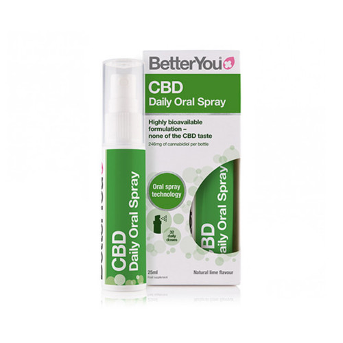 BetterYou Hemp Oral Spray (246mg) - 25ml