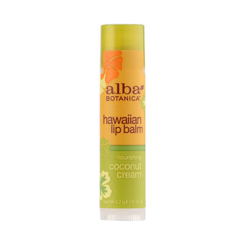 Alba Hawaiian Lip Balm Coconut Cream - 4g
