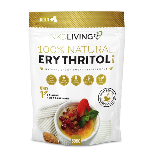 NKD Living 100% Natural Erythritol Gold - 500g