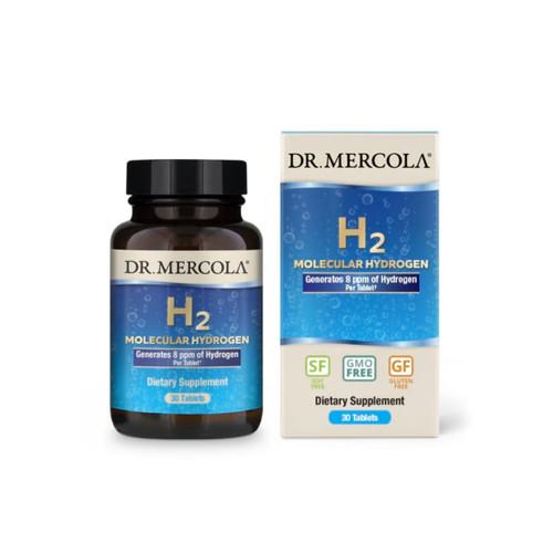 Dr Mercola H2 Molecular Hydrogen - 30 tablets
