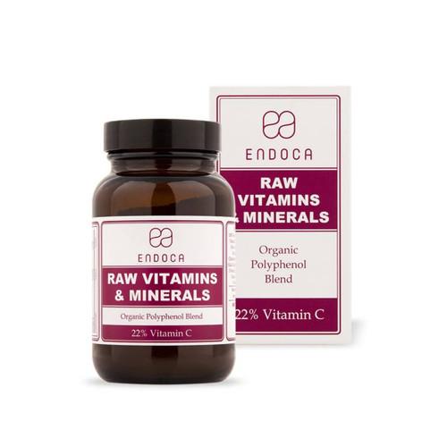 Endoca Raw Vitamins & Minerals - 86g