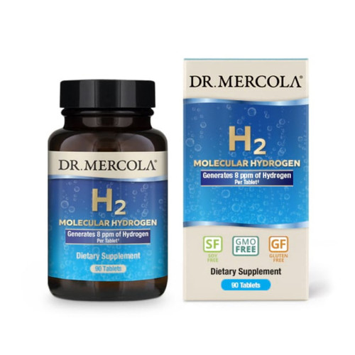 Dr Mercola H2 Molecular Hydrogen - 90 tablets