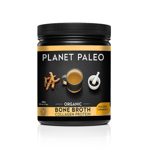 Planet Paleo Bone Broth (Golden Turmeric) - 450g