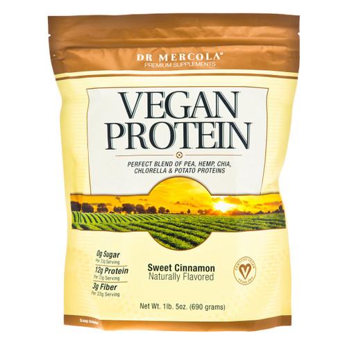 Dr Mercola Vegan Protein Sweet Cinnamon - 690g