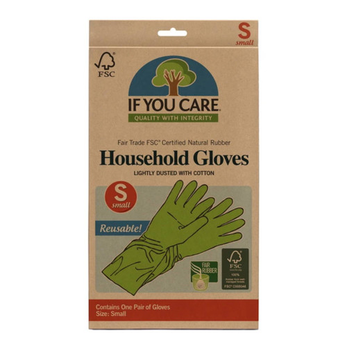 If You Care Small Latex Household Gloves - 1 Pair