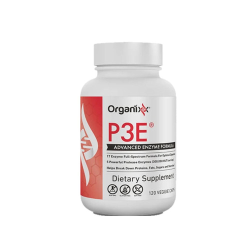 Organixx P3E Advanced Enzyme Formula - 120 capsules