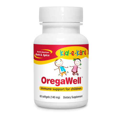 North American Herb & Spice OregaWell Kids - 60 capsules