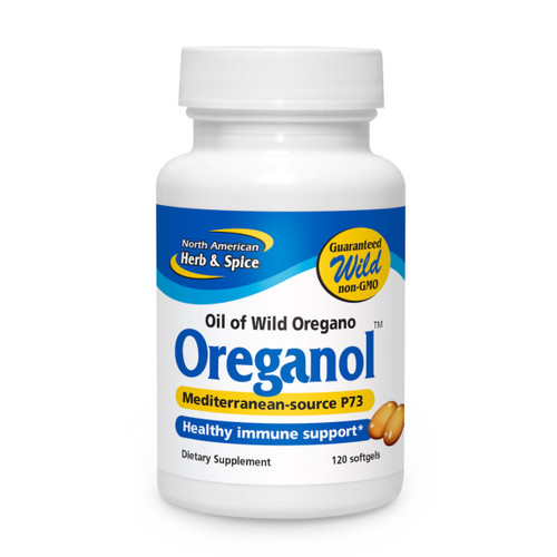 North American Herb & Spice Oreganol P73 (Oil of Oregano) - 120 gelcaps