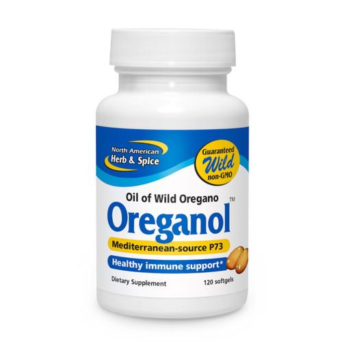 North American Herb & Spice Oreganol P73 (Oil of Oregano) - 120 gelcaps