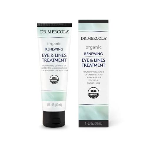Dr Mercola Organic Renewing Eye & Lines Treatment - 30ml