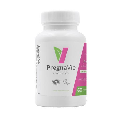 Vegetology PregnaVie - 60 veg tablets