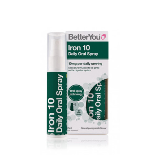 BetterYou Iron 10 Daily Spray - 25ml