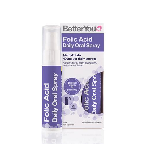 BetterYou Folic Acid Daily Spray - 25ml