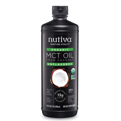 Nutiva Organic MCT Oil 93%  - 946ml