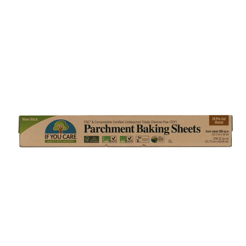 If You Care Unbleached Baking Sheets - 24 Pre Cut Sheets