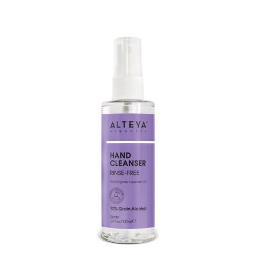 Alteya Organic Hand Cleanser (Sanitiser) Rinse Free - 100ml