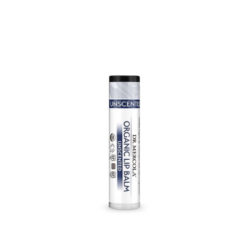Dr Mercola Healthy Skin Lip Balm - Unscented (4g)