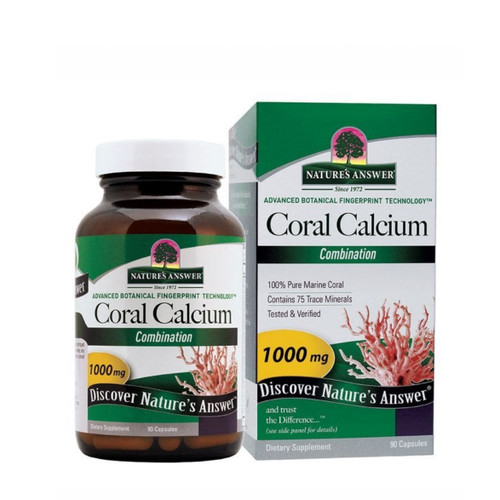 Nature's Answer Coral Calcium - 90 capsules
