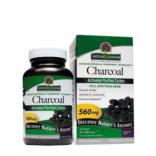 Nature's Answer Charcoal - 90 vegcaps