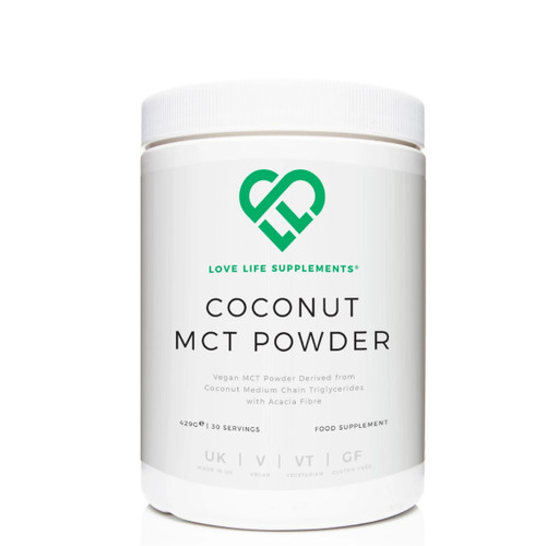 Love Life Supplements  Coconut MCT Powder - 429g