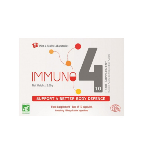Mint-e Health Laboratories Immuno4 - 10 capsules