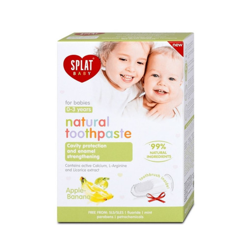 Splat Baby Apple & Banana Natural Toothpaste - 40ml