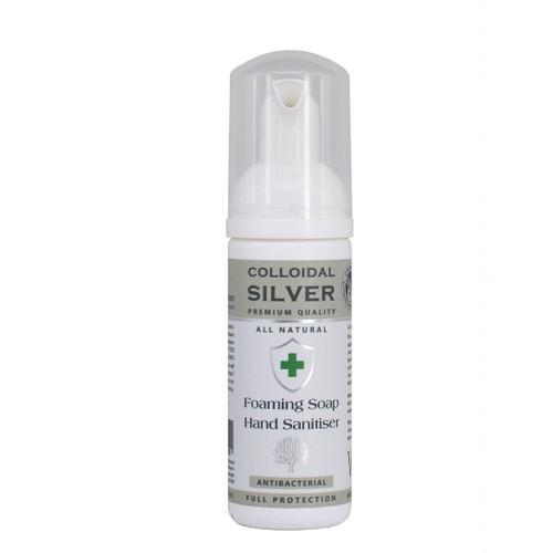 Nature's Greatest Secret Colloidal Silver Foaming Soap Hand Sanitiser - 60ml