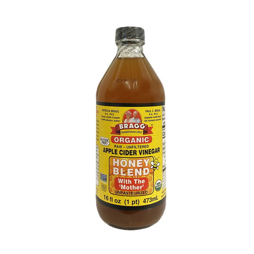 Braggs Apple Cider Vinegar & Honey Blend with the Mother - 473ml