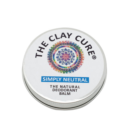 The Clay Cure Company Simply Neutral Deodorant Balm - 60g