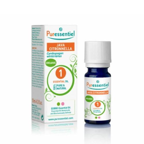 Puressentiel Organic Java Citronella Essential Oil - 10ml