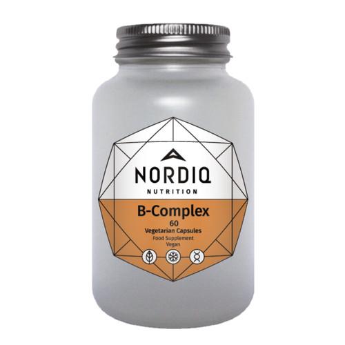 Nordiq Nutrition B Complex - 60 capsules