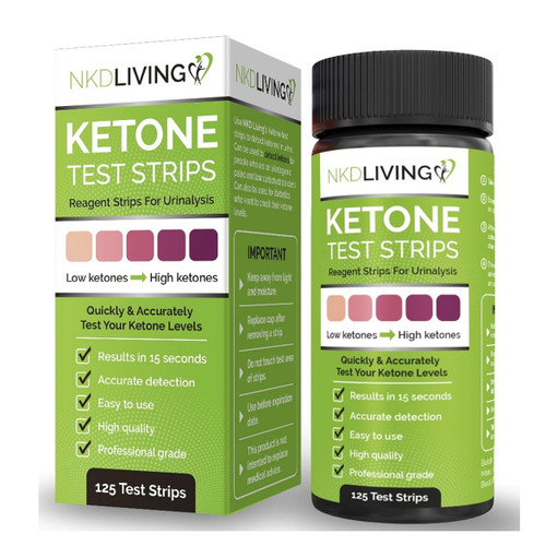 NKD Living Ketone Test Strips - 120 strips