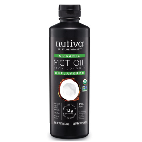 Nutiva Organic MCT Oil - 473ml