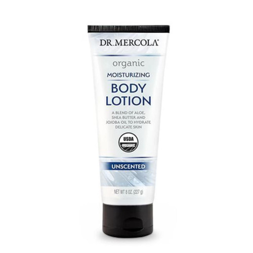 Dr Mercola Healthy Skin Moisturising Body Lotion (unscented) - 227g