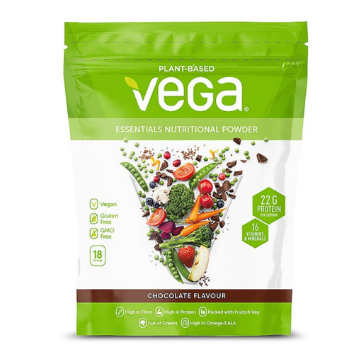 Vega Essentials Nutritional Powder (Chocolate) - 648g