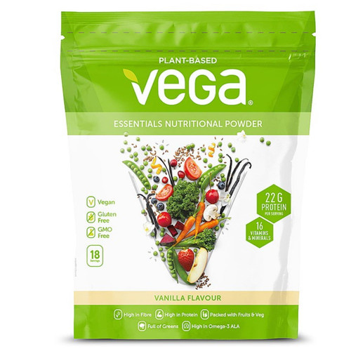 Vega Essentials Nutritional Powder (Vanilla) - 612g