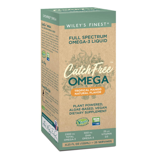 Wiley's Finest CatchFree Full Spectrum Omega-3 (Mango) - 125ml