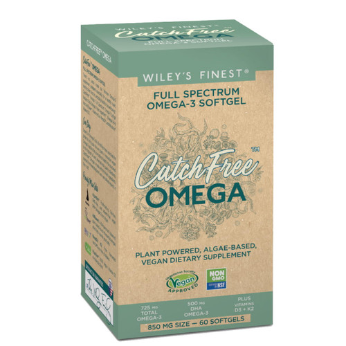 Wiley's Finest CatchFree Full Spectrum Omega-3 - 60 capsules