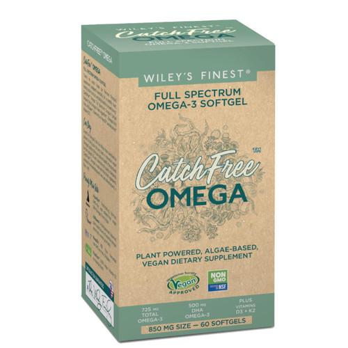 Wiley's Finest CatchFree Full Spectrum Omega-3 - 60 capsules