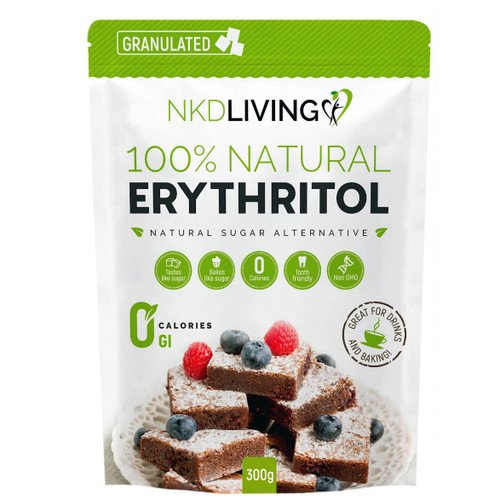 NKD Living 100% Natural Erythritol - 300g