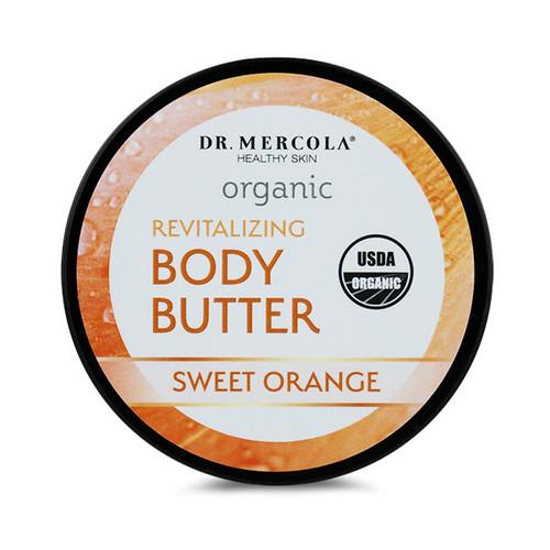 Dr Mercola Healthy Skin Organic Body Butter (Sweet Orange) - 113g